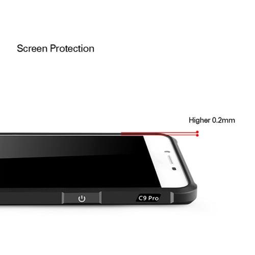 Case Samsung C9 Pro Softcase Cocose - Black Dragon