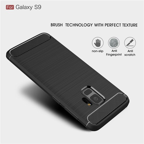 Case Samsung S9 Softcase Black Armor