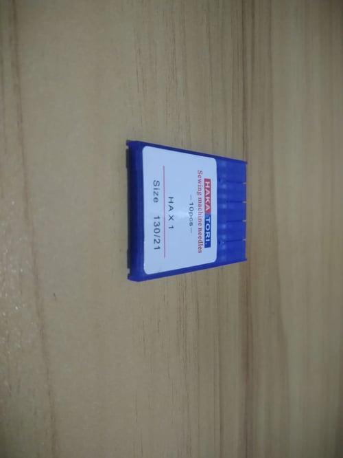 jarum mesin jahit portable dan tradisional HAx1 130/21 isi 10 pcs