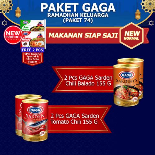 Paket GAGA Ramadhan Keluarga  (GG74)