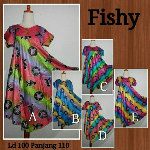 Daster Fishy Fit To XL