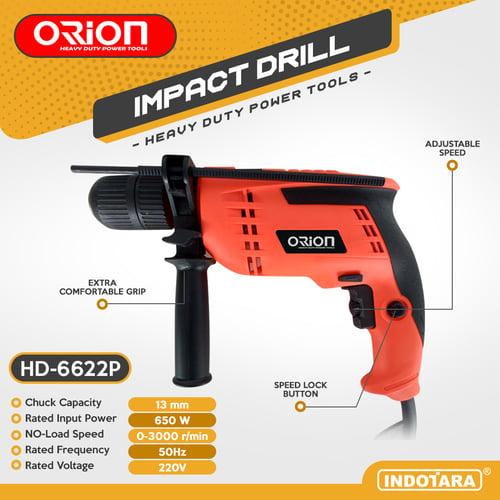 Mesin Bor / Impact Drill Listrik Orion - HD-6622P