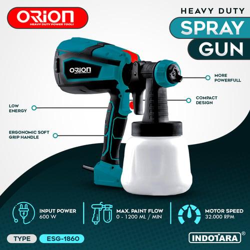 Electric Spray Gun Orion ESG-1860 Spray Painter 600W