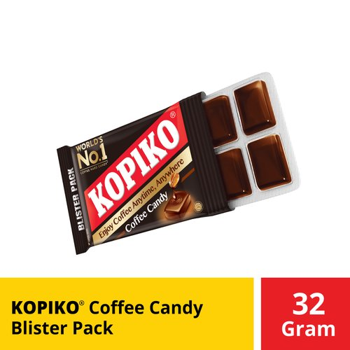 Kopiko Coffee Candy Blister Pack 32 Gr