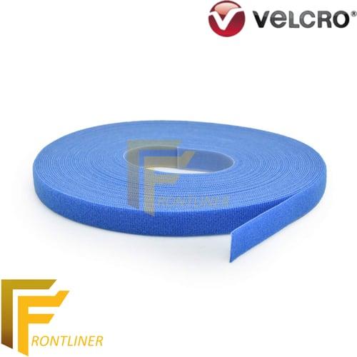 Velcro One Wrap Fastener lebar +/- 20mm Biru panjang 22,9m