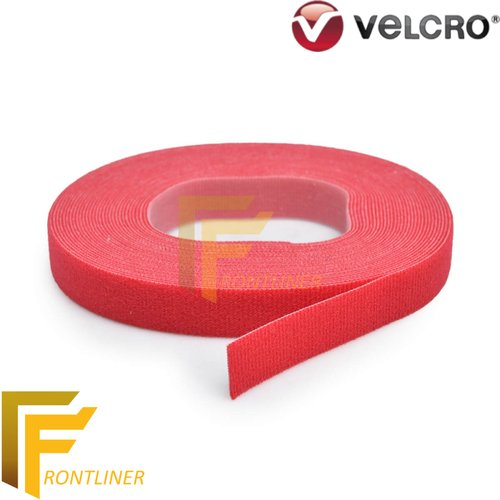 Velcro One Wrap Fastener lebar +/- 20mm Red panjang 22,9m Rolled