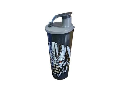 Tupperware Transformer Tumbler / Botol Minum Anak Edisi Transformers (1) Hitam