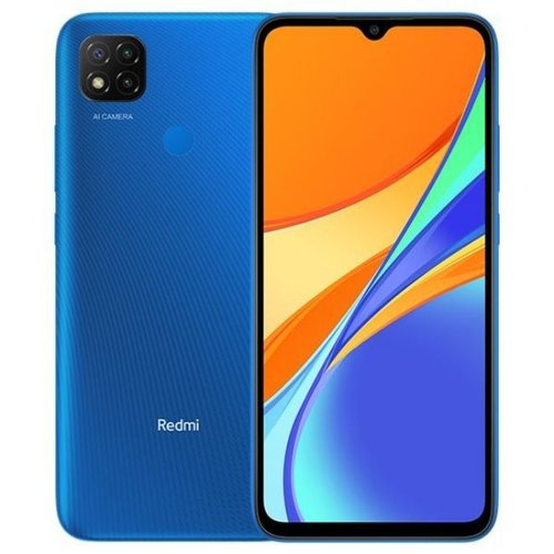 Xiaomi Redmi 9C Smartphone  Ram 4GB  Rom 64GB  - Garansi Resmi Twilight Blue