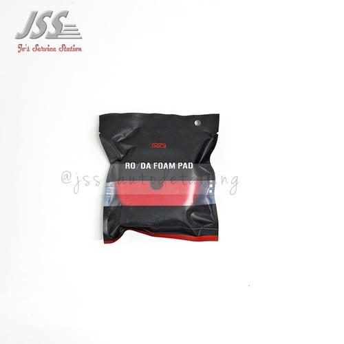 SGCB RO/DA Foam Pad Red Finishing Pad diameter 3 inch