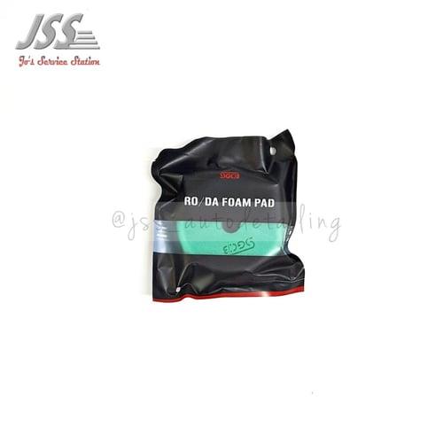 SGCB RO/DA Foam Pad Green Light Cutting Pad Diameter 3 inch