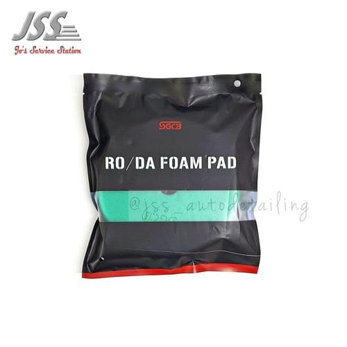 SGCB RO/DA Foam Pad Green Light Cutting Pad Diameter 6 inch  Velcro 5 inch