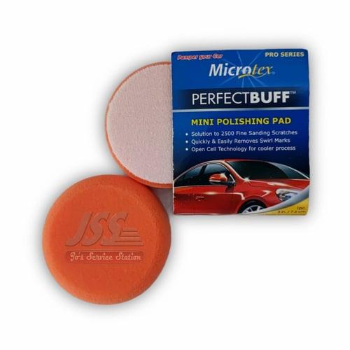 MTX Microtex Pro Foam Pad - Orange Polishing 3 inch