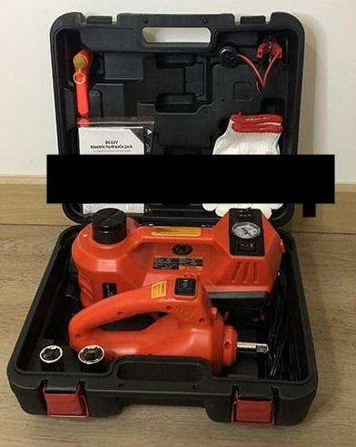 Dongkrak Mobil Elektrik pembuka Baut Pompa Eletkrik Car Jack 5 TON