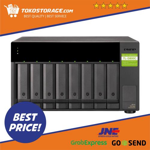 QNAP TL-D800C 8 Bay Desktop JBOD storage enclosure TL D800C