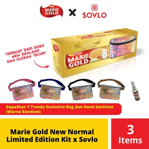 Marie Gold New Normal Limited Edition Kit x Sovlo