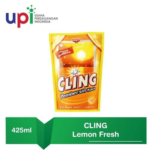Cling Pembersih Kaca App Yellow 425ml