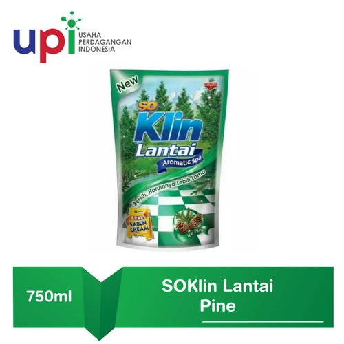 SoKlin Pembersih Lantai Pouch Aromatic Spa 780ml
