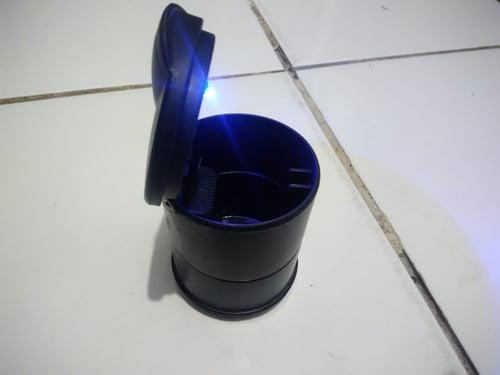 Asbak mobil LED