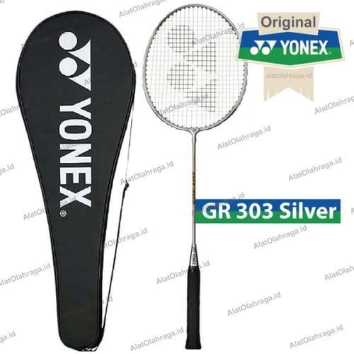 Raket Badminton / Bulutangkis Yonex Gr 303 silver Original