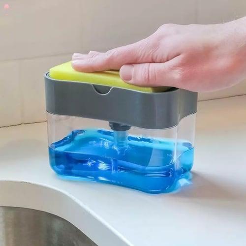 Dispenser Sabun Cuci Piring Sponge Busa Tempat Sabun Cair