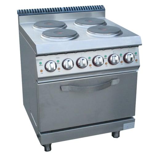 Electric 4 Hot-Plate Cooker & Cabinet E-DSJ-700