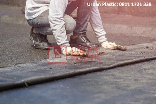 Geomembrane HDPE / Geomembrane Kolam 0.3 mm - Urban Plastic