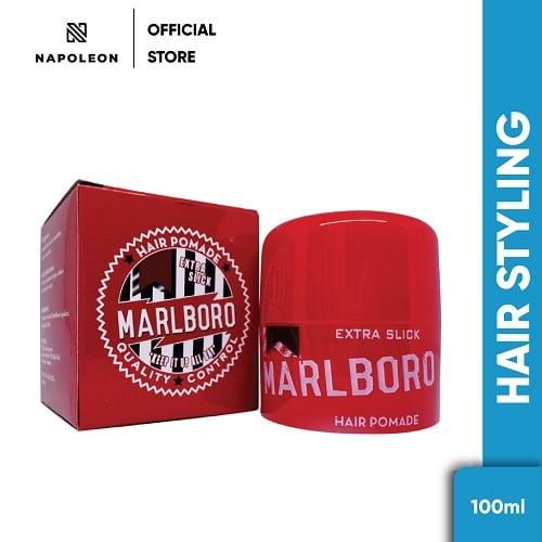 Pomade Marlboro Extra Slick 100 gram - FREE SISIR
