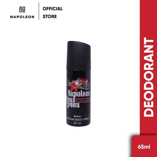 Parfum Deodorant Napoleon Hitam 65 ml
