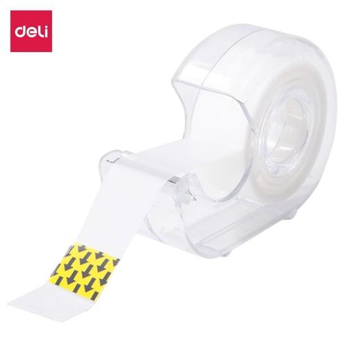 Deli Isolasi Bening warna kertas putih menjadi tidak terlihat transparan /box EA30011