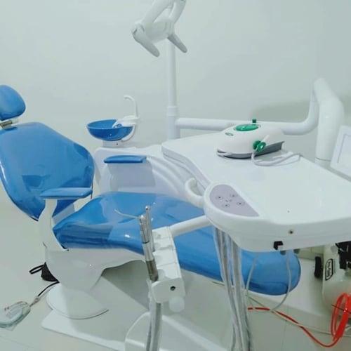 Dental Unit Lengkap siap pakai Ordent Chairs Upgrade selang SMC Japan