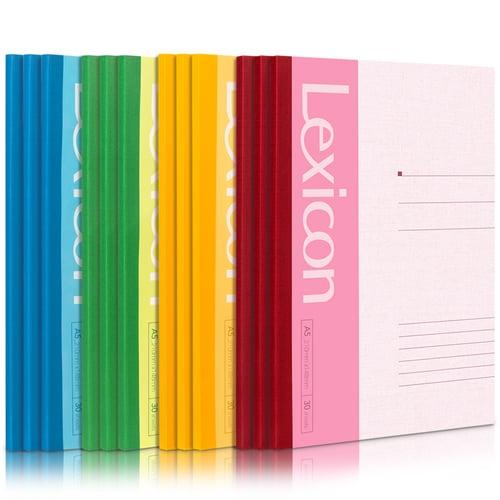 Deli Buku notebook tanpa jilid kawat, soft cover 4 warna 30/40/50/60/80/100 lembar A5/B5  7650