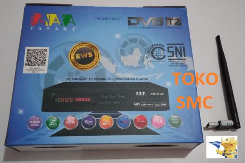 Set Top Box tanaka DVB-T2 tv digital (kabel hdmi + kabel loop)