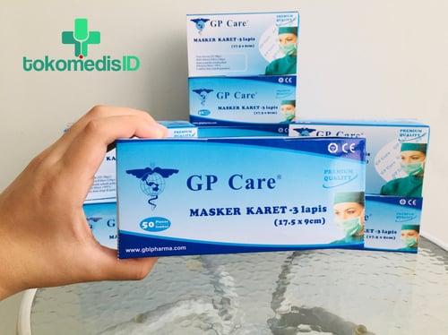 GP Care Masker 3-PLY Earloop Face Mask isi 50 PCS