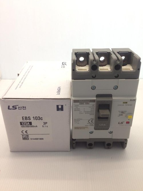ELCB 3P 125A Type EBS-103c 30mA Merk LS