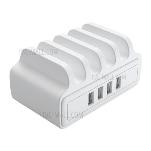 ORICO 4 Ports USB Charging Station Dock with Phone Holder - DUK-4P - White