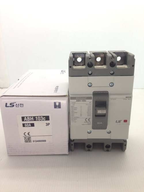 MCCB 3P 60A Type ABH-103c / 50kA Merk LS
