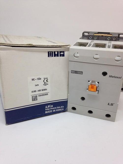 Kontaktor 3P 150A Type MC-150a / 220VAC Merk LS