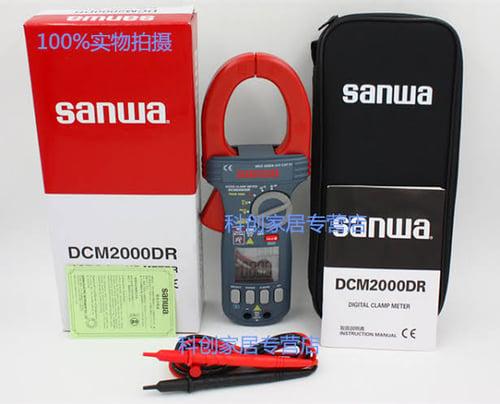 Digital Clamp meter DCM2000DR Merk Sanwa