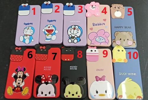 Case Silicone Disney Iphone Style Realme C25 C21, C15, C11, 8 Pro, Vivo Y30 Y50, Y17 Y15 Y12, Y91C Y93, Oppo A57 A39, F1s, A71, A3S, A15, Samsung A02, A02s, A52, A32, A12, J2 Prime, Iphone 6, 7, Plus, XR