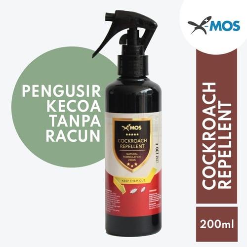X-MOS Cockroach Repellent 200ml - Pengusir Kecoa Bahan Alami