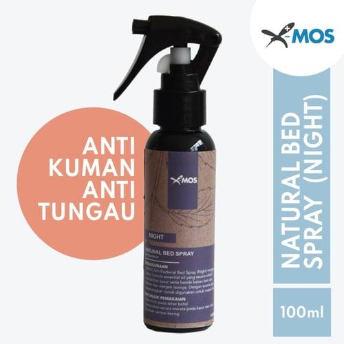 X-MOS Natural Bed Spray Night 100ml - Anti Bacterial