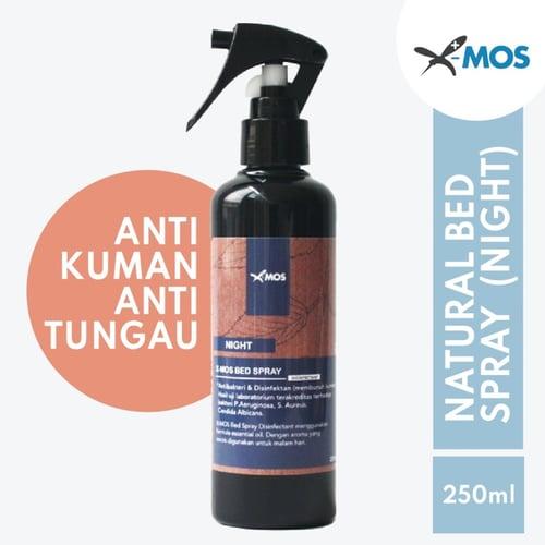 X-MOS Natural Bed Spray Night 250ml - Antibacterial