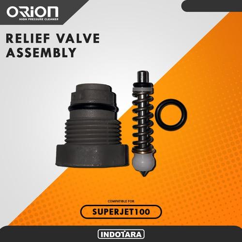 Relief valve assembly - Orion Superjet100