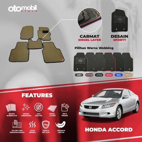 Karpet Mobil Honda Accord Bahan Single Layer Rubber Eva Premium