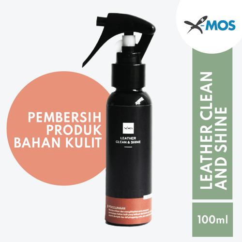 X-MOS Leather Clean & Shine 100ml - Pembersih dan Perawatan Bahan Kulit