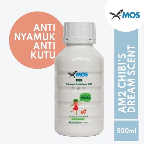 X-MOS AM2 Chibi Refill 500ml - Anti Tungau, Nyamuk, Kutu, Serangga