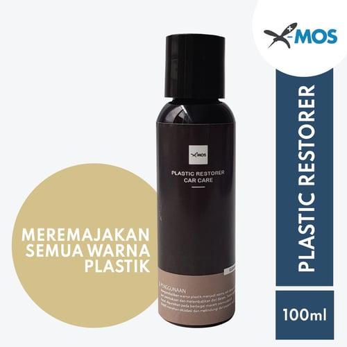 X-MOS Plastic Restorer 100ml - Perawatan Plastik Mobil, Motor / Rumah