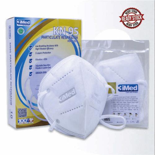 Masker KN95 Particulate Respirator Headloop Isi 10