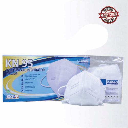 Masker KN95 Particulate Respirator Earloop Isi 50