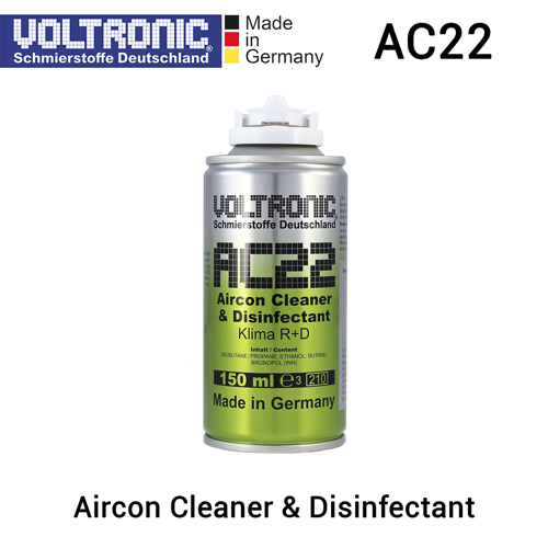 VOLTRONIC AC22 - Aircon + Evaporator Cleaner & Disinfectant